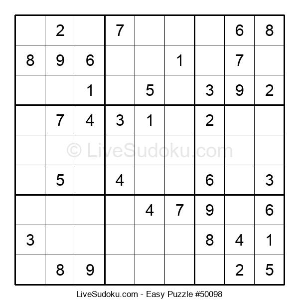 Beginners Puzzle #50098