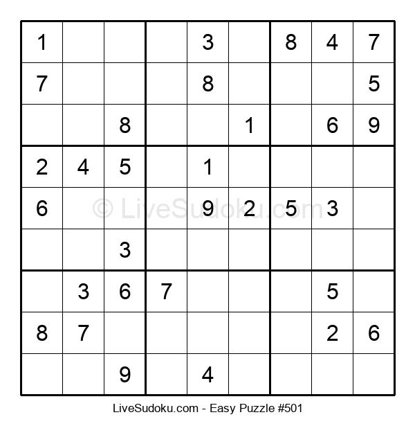 Beginners Puzzle #501
