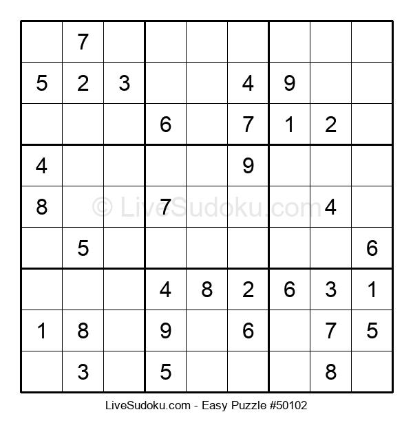 Beginners Puzzle #50102