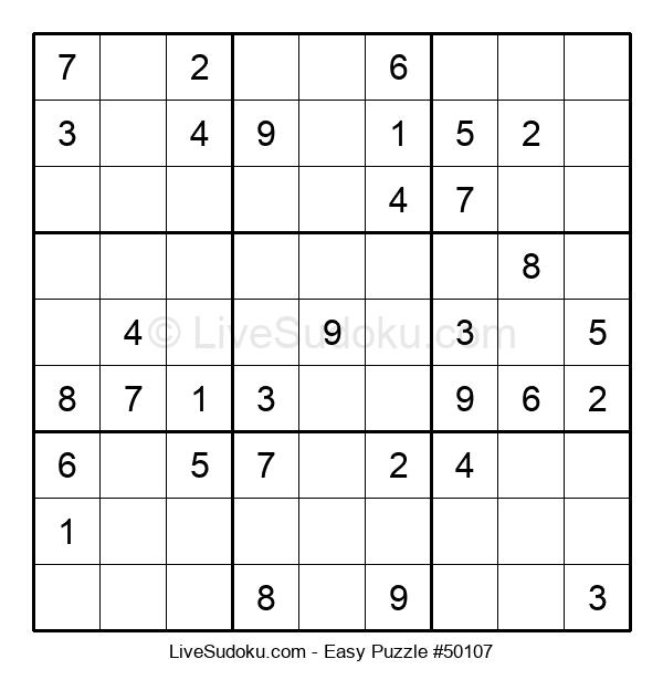 Beginners Puzzle #50107