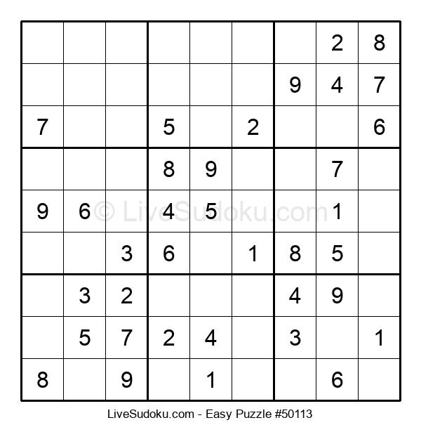 Beginners Puzzle #50113