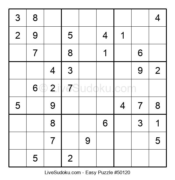 Beginners Puzzle #50120