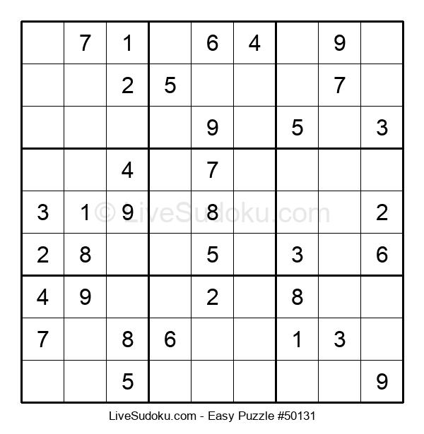 Beginners Puzzle #50131