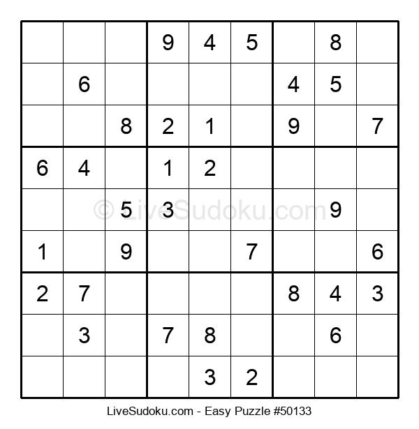 Beginners Puzzle #50133