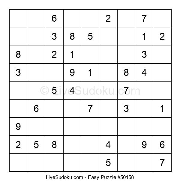 Beginners Puzzle #50158