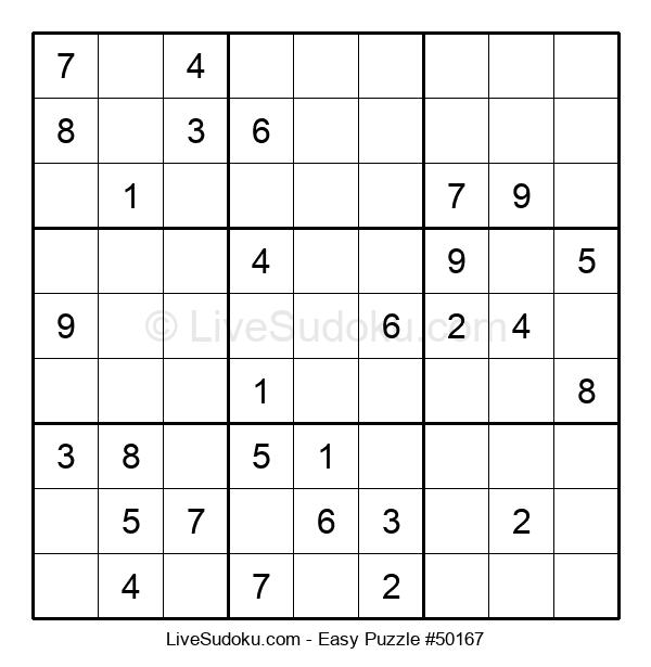 Beginners Puzzle #50167