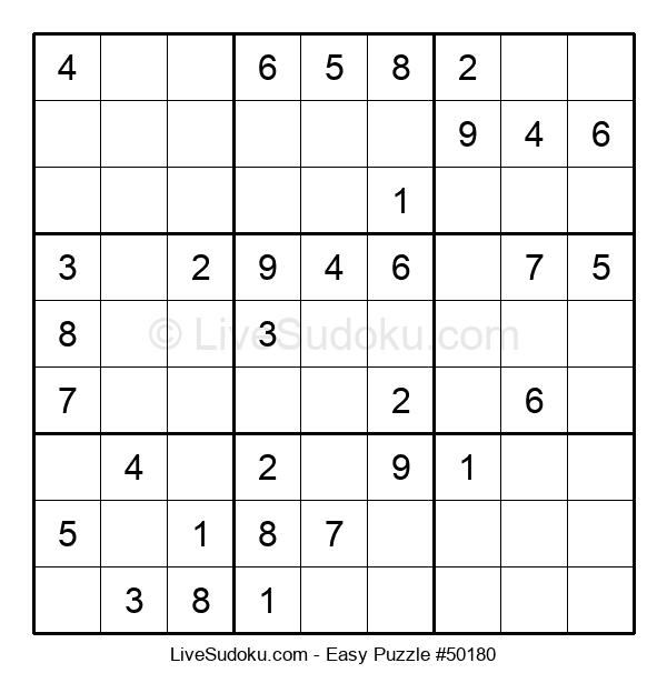 Beginners Puzzle #50180