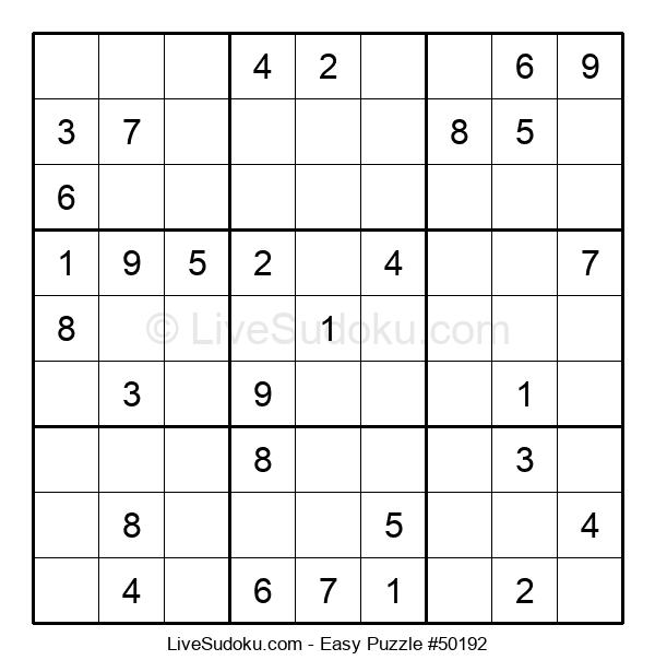 Beginners Puzzle #50192