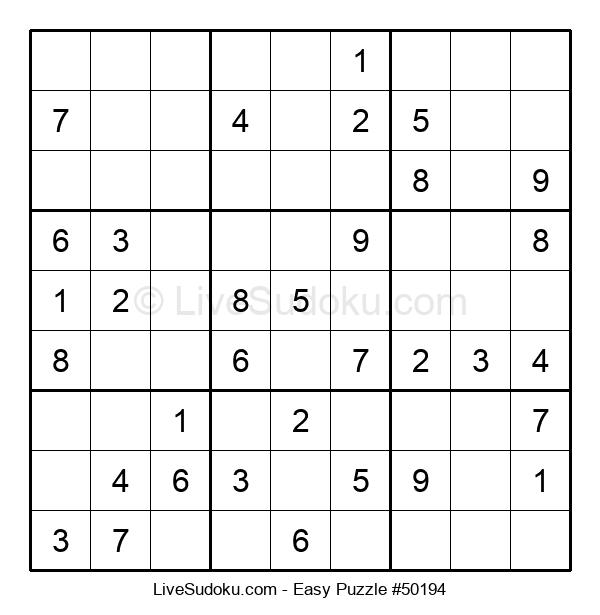 Beginners Puzzle #50194