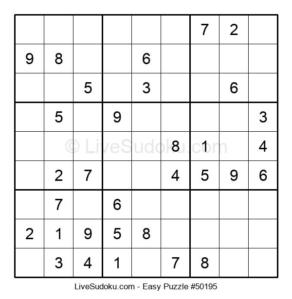 Beginners Puzzle #50195