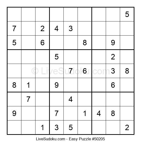 Beginners Puzzle #50205