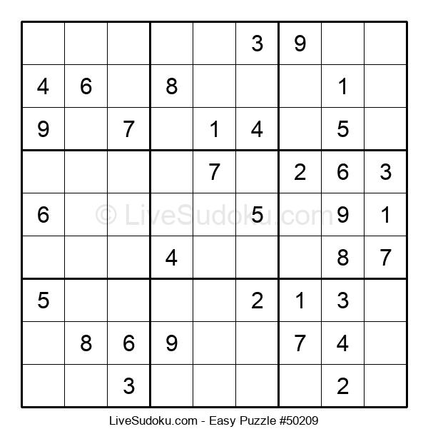 Beginners Puzzle #50209