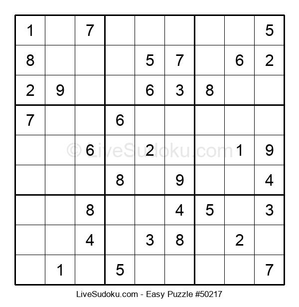 Beginners Puzzle #50217
