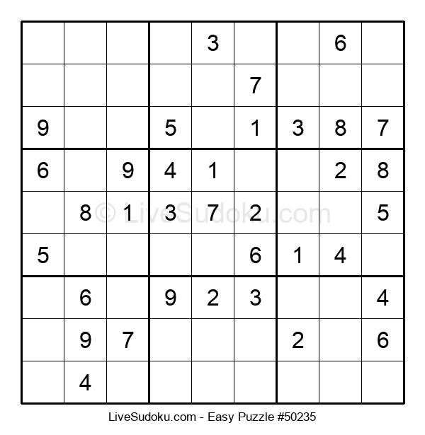 Beginners Puzzle #50235