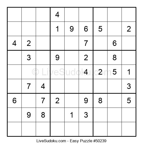 Beginners Puzzle #50239