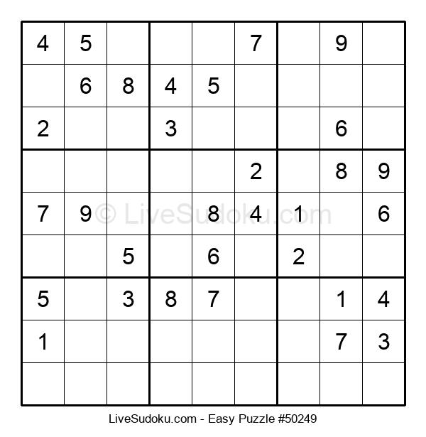 Beginners Puzzle #50249