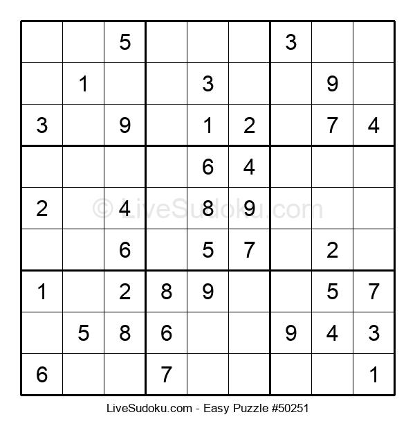 Beginners Puzzle #50251
