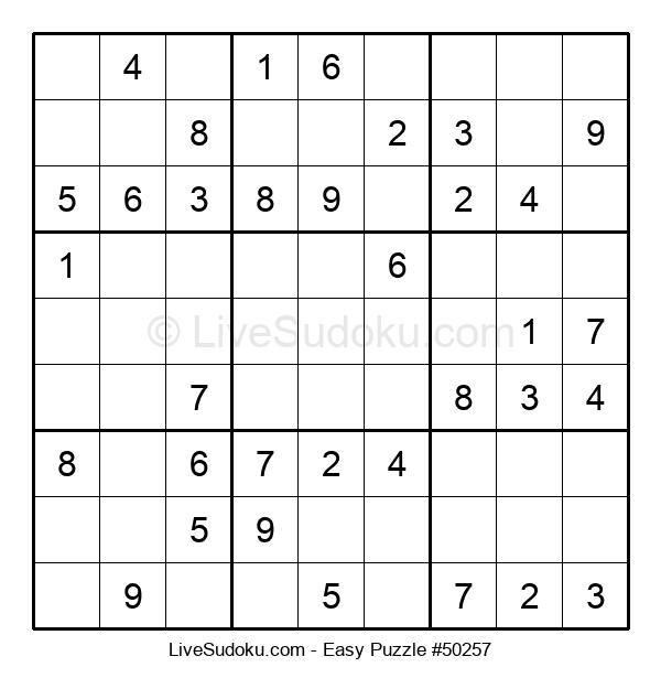 Beginners Puzzle #50257