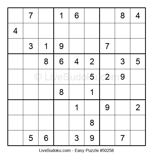 Beginners Puzzle #50258