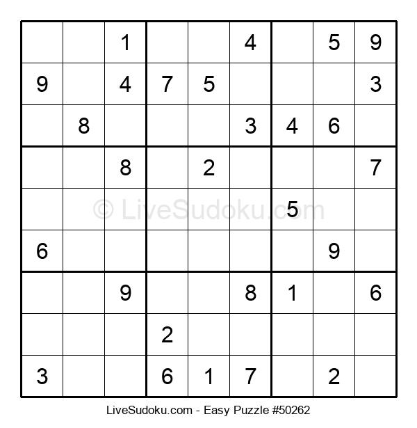 Beginners Puzzle #50262