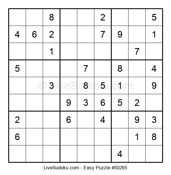 Beginners Puzzle #50265