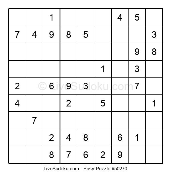 Beginners Puzzle #50270