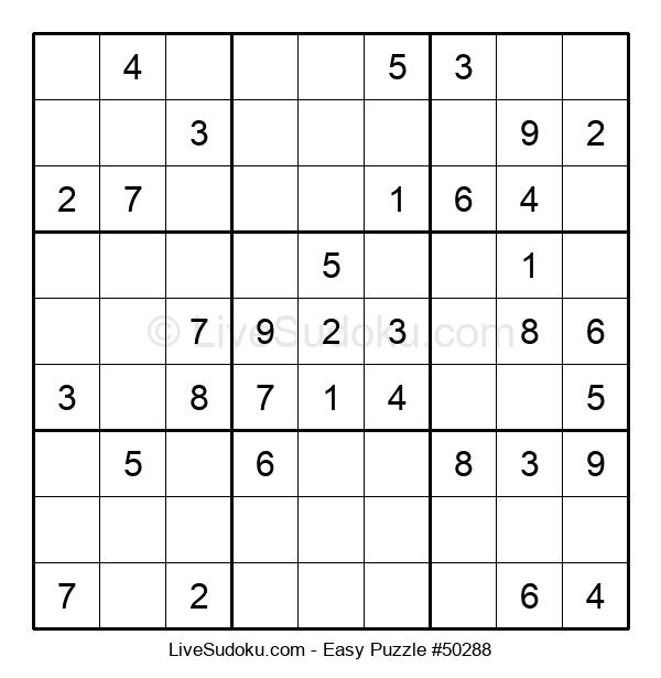 Beginners Puzzle #50288