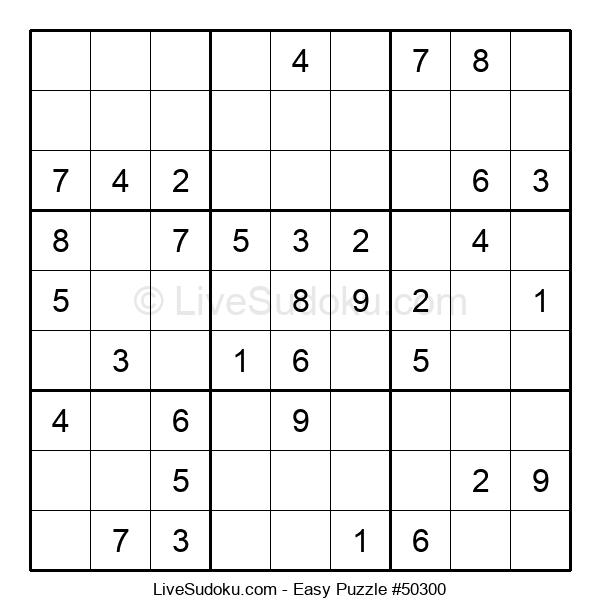 Beginners Puzzle #50300