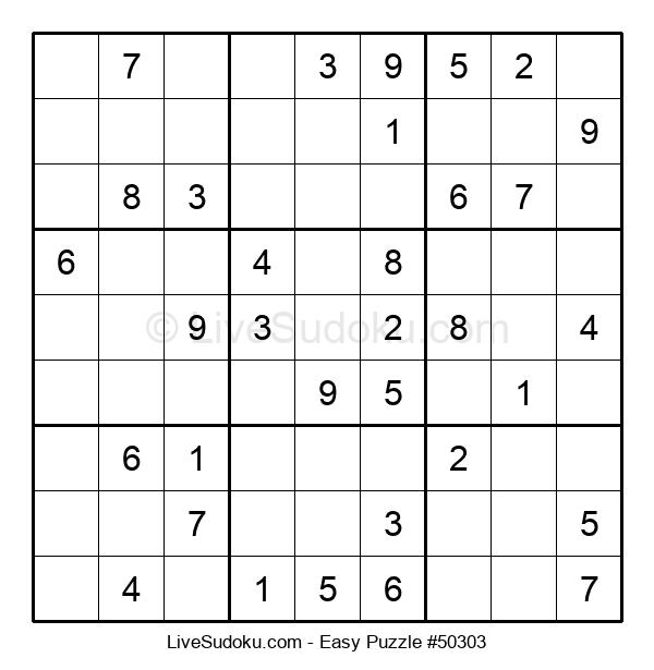 Beginners Puzzle #50303