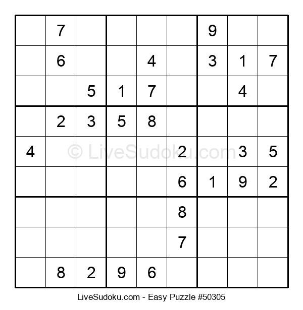 Beginners Puzzle #50305