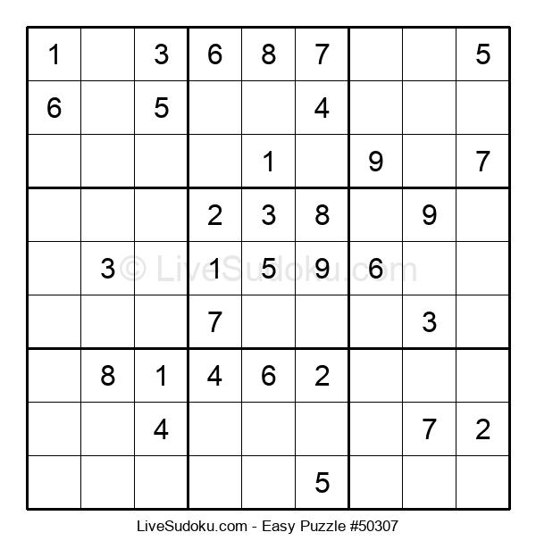 Beginners Puzzle #50307