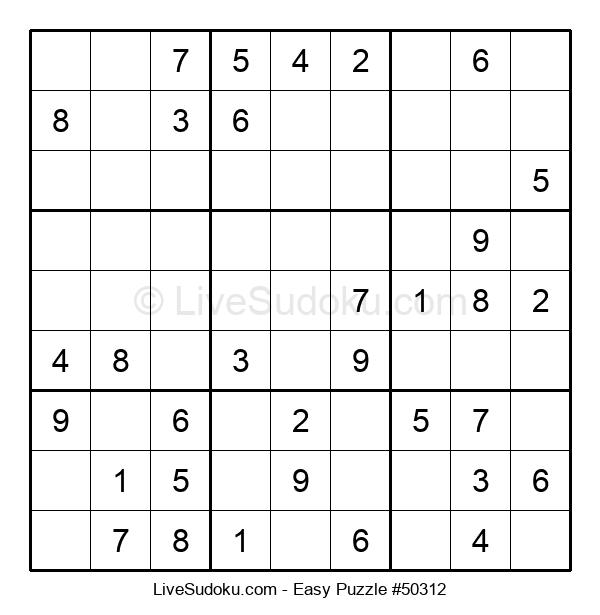 Beginners Puzzle #50312