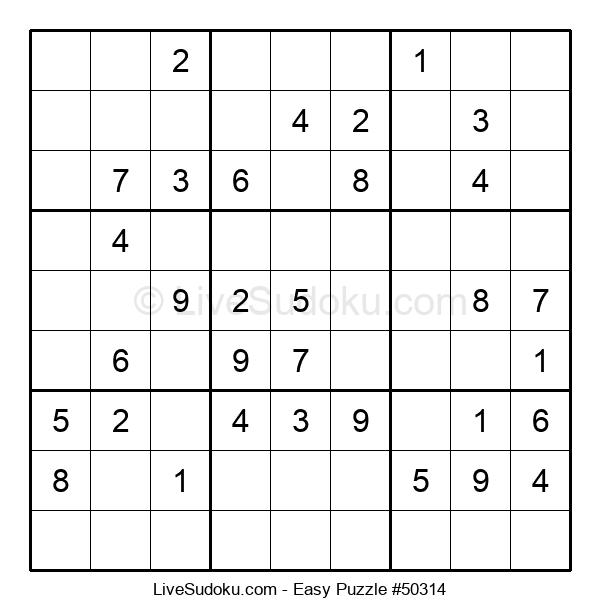 Beginners Puzzle #50314