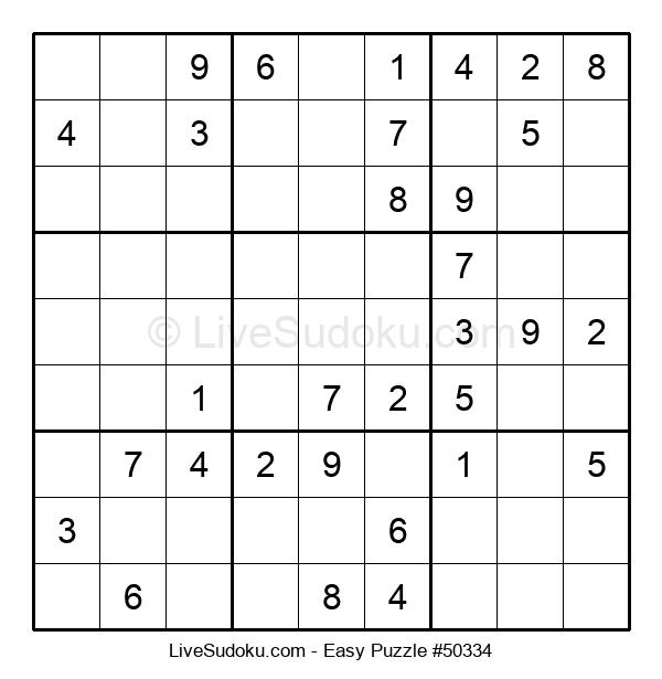 Beginners Puzzle #50334