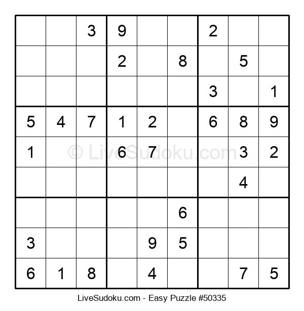 Beginners Puzzle #50335