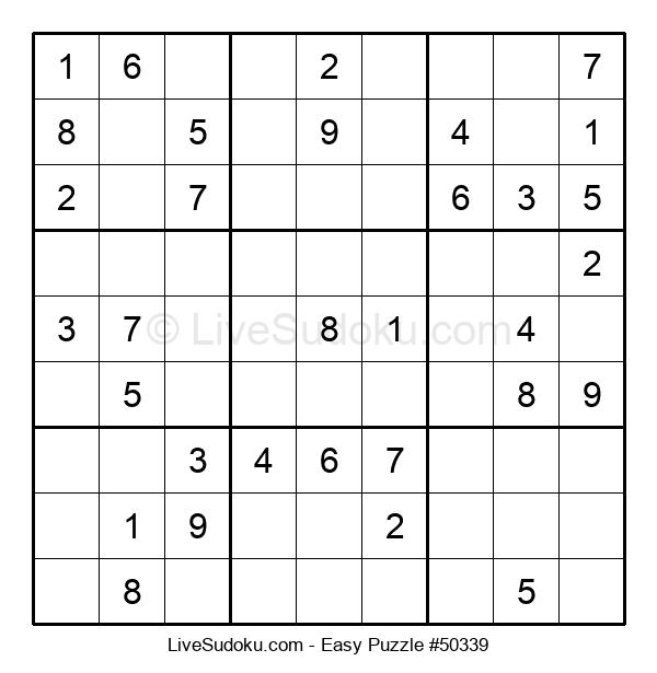 Beginners Puzzle #50339