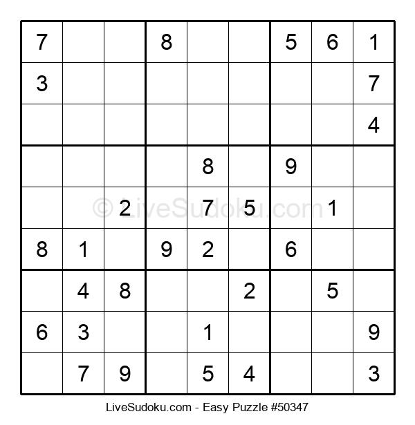 Beginners Puzzle #50347