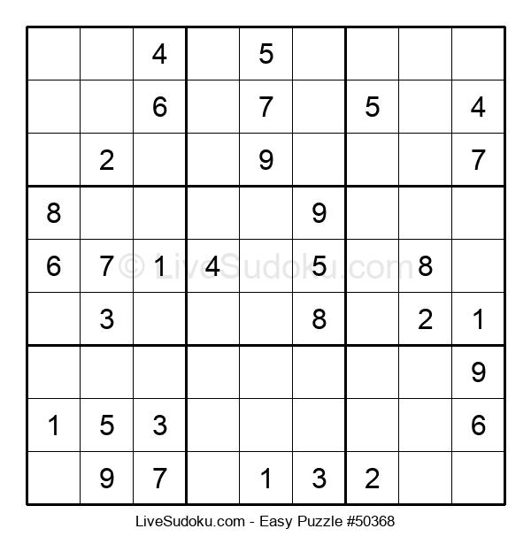 Beginners Puzzle #50368