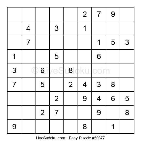 Beginners Puzzle #50377