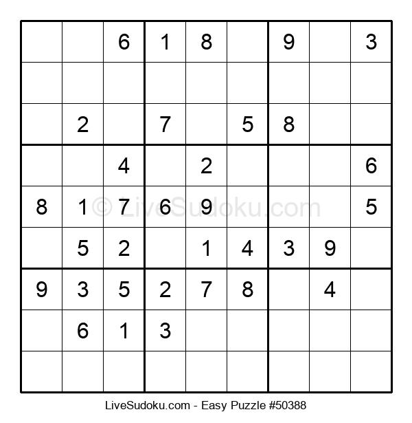 Beginners Puzzle #50388