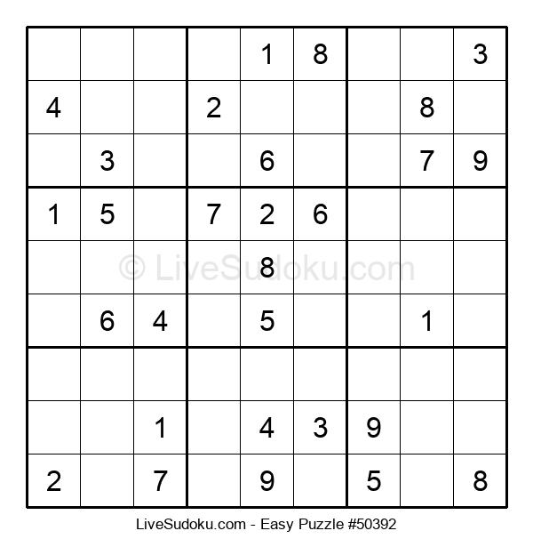 Beginners Puzzle #50392