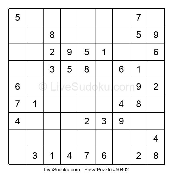 Beginners Puzzle #50402
