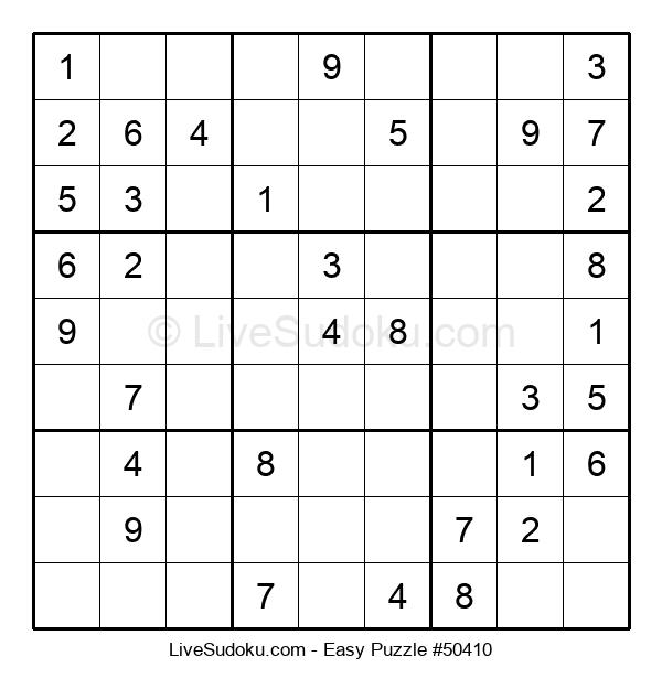 Beginners Puzzle #50410