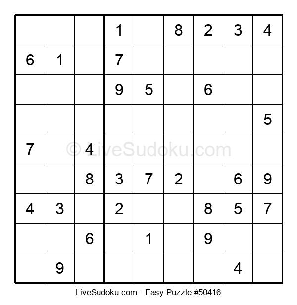 Beginners Puzzle #50416
