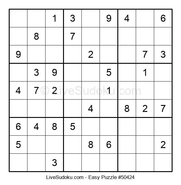 Beginners Puzzle #50424