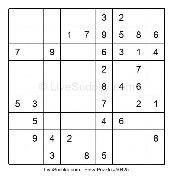 Beginners Puzzle #50425