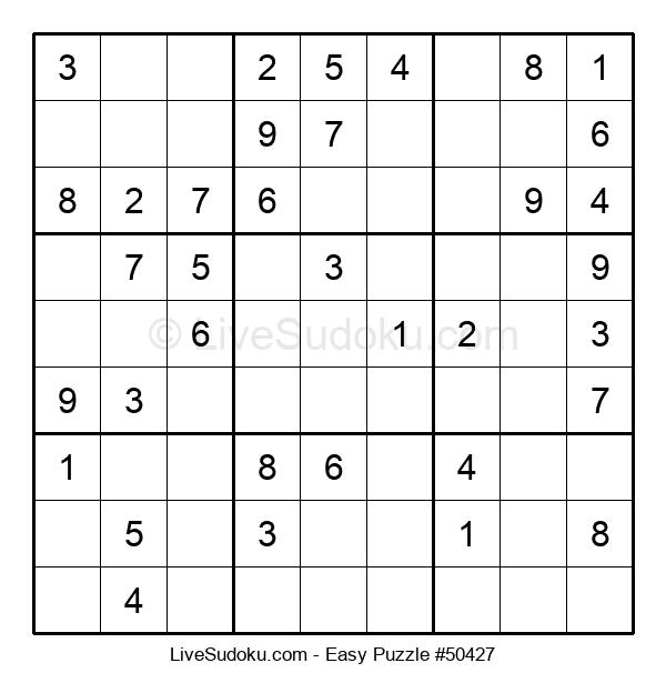 Beginners Puzzle #50427
