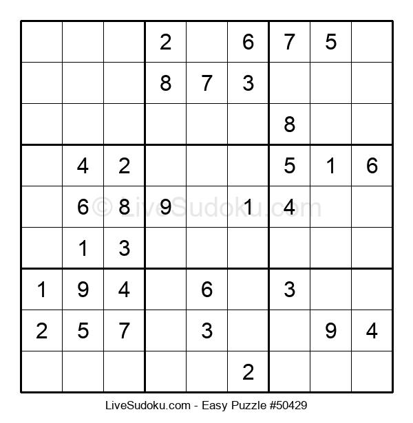Beginners Puzzle #50429