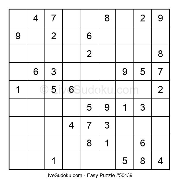 Beginners Puzzle #50439