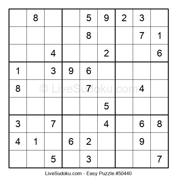 Beginners Puzzle #50440